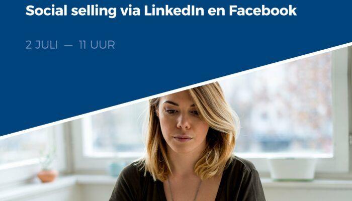 Hoe doet u aan social selling via Facebook en LinkedIn, op een kwartier per dag?